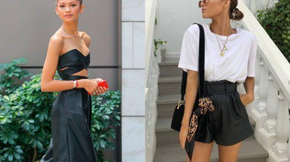Μοναδικοί συνδυασμοί με καλοκαιρινά δερμάτινα ρούχα το καλοκαίρι!