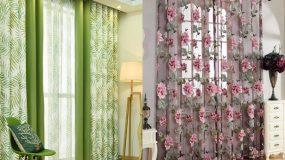 Ποιες κουρτίνες ταιριάζουν στο κάθε δωμάτιο; Δες τους κατάλληλους συνδυασμούς.