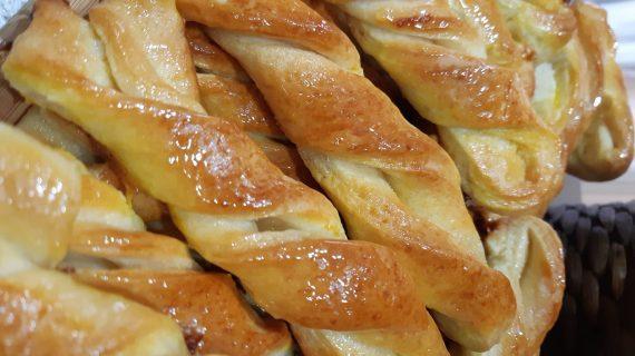Συνταγή για μαλακά κουλουράκια πατισερι με μέλι