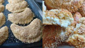 Γκόλφω Νικολού : H συνταγή για τυροπιτάκια κουρού που έγινε ανάρπαστη