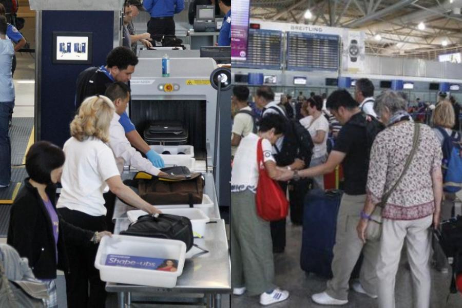 Τα 10 πιο παράξενα αντικείμενα και...όχι μόνο που μετέφεραν παράνομα επιβάτες στο αεροδρόμιο!