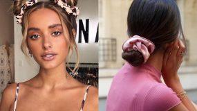 Scrunchies: Η νέα τάση στα μαλλιά ήρθε για να μείνει! Τα πιο μοντέρνα αξεσουάρ του 2020!