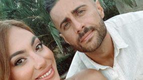 Κομψοί και καλοκαιρινοί: Η Βαλαβάνη και ο Βασάλος σε βάφτιση στην Κρήτη! (εικόνες)