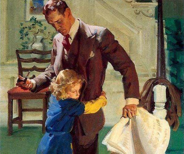 Πολλές φορές οι μπαμπάδες απέχουν από την ανατροφή των παιδιών επειδή οι μαμάδες δεν τους αφήνουν!