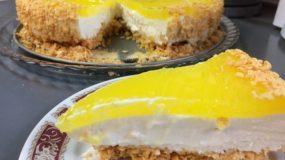 Δροσερό & ελαφρύ γιαουρτογλυκό ψυγείου με λεμόνι & τζίντζερ! Τρώγεται και σαν παγωτό!