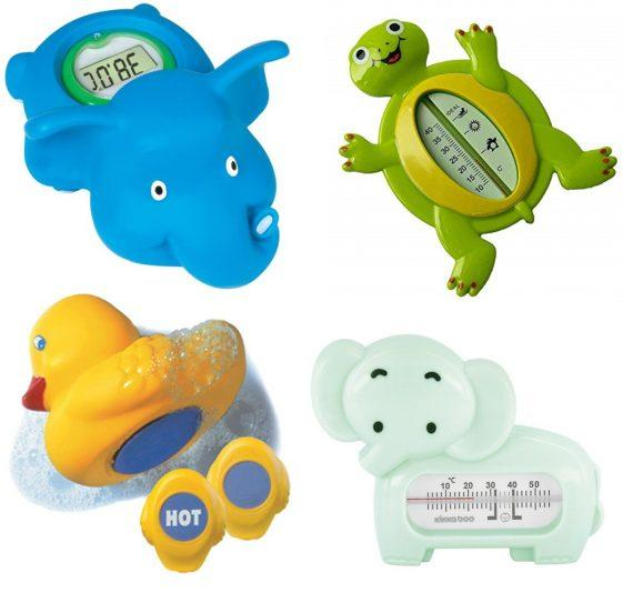 θερμόμετρο για το μπάνιο των μωρών