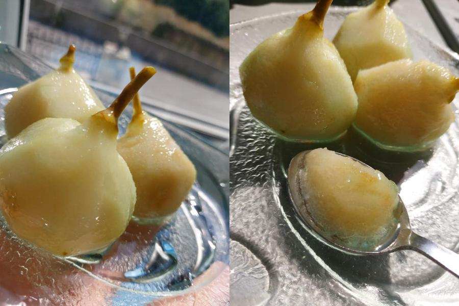 Συνταγή για γλυκό του κουταλιού αχλάδι!
