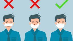 Καθηγητής του LSE προειδοποιεί: Γιατί δεν πρέπει να κατεβάζουμε τη μάσκα στο πιγούνι μας;