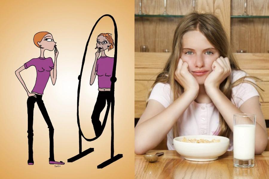 Η κoρη μου είναι 17 ετών και νομίζω ότι πάσχει από διατροφικές διαταραχές!