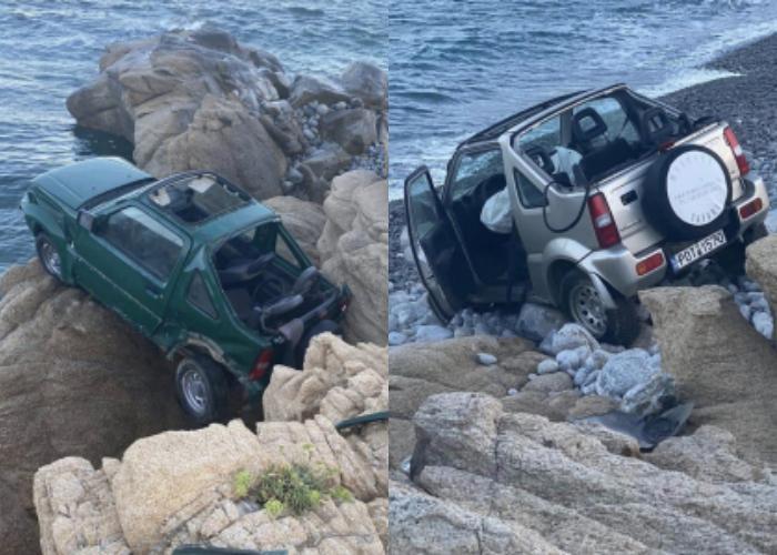 Τραγικό: 2 αυτοκίνητα σε γκρεμό στη Μύκονο- Νεκρή μία 18χρονη