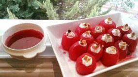 Συνταγή για μήλα με σιρόπι γρεναδίνης!