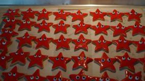 Πεντανόστιμα μπισκότα βουτύρου αστεράκια για το παιδικό party!