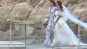 Εριέττα Κούρκουλου-Βύρωνας Βασιλειάδης: Ο ονειρεμένος γάμος τους στη Μύκονο
