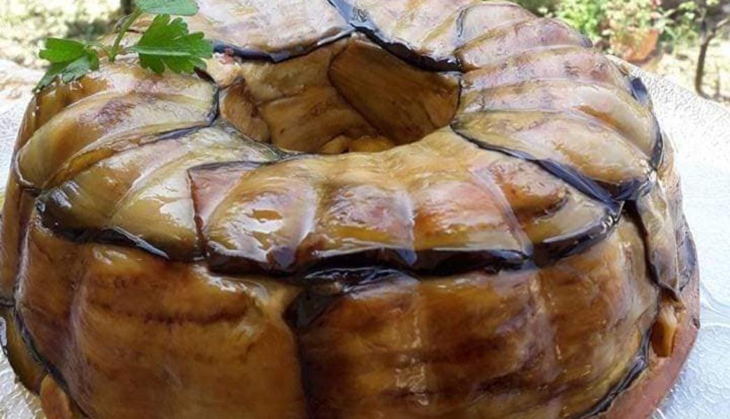 Υπέροχο τιμπάλ μελιτζάνας ιδανικό για μπουφέ