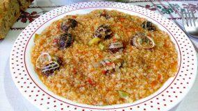 Κρητική παραδοσιακή συνταγή: Χόντρο με χοχλιούς!