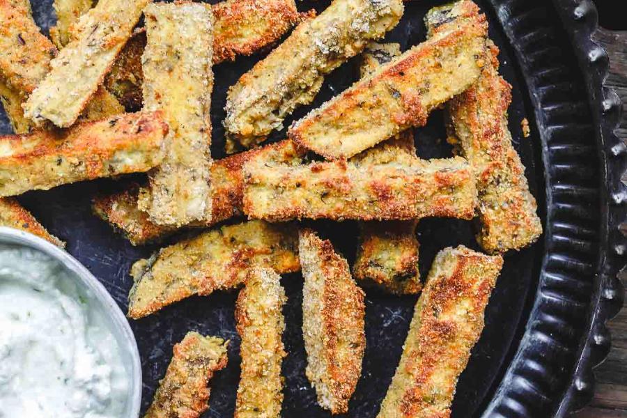 Μελιτζάνες που μοιάζουν με τηγανιτές πατάτες! Δείτε την συνταγή!