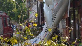 Έκτακτο: Πτώση αεροπλάνου στις Σέρρες τώρα