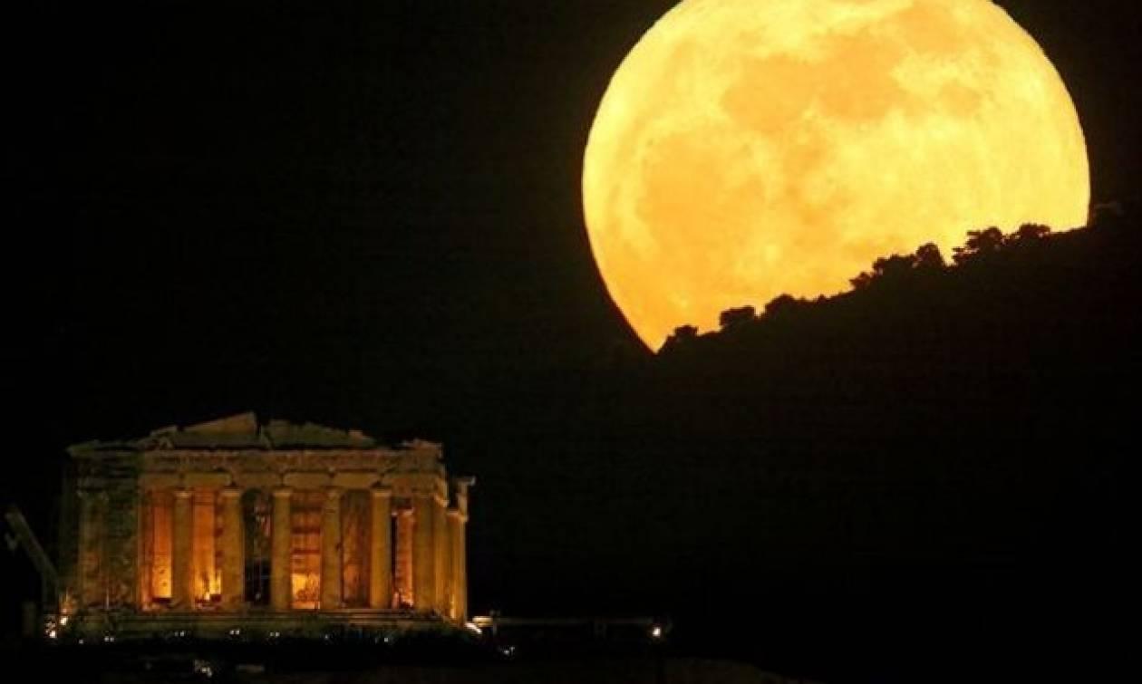 Πανσέληνος Αυγούστου: Σηκώστε τα μάτια ψήλά -Δωρεάν  Εκδηλώσεις σε 77 αρχαιολογικούς χώρους και μουσεία