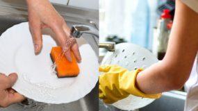 6 έξυπνα κόλπα που θα κάνουν το πλύσιμο πιάτων στο χέρι πιο εύκολο από ποτέ!