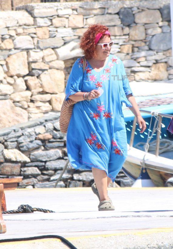 Ελένη Κοκκίδου: Δείτε τη Βουλίτσα με νέο hair look στα Κουφονήσια [pics]