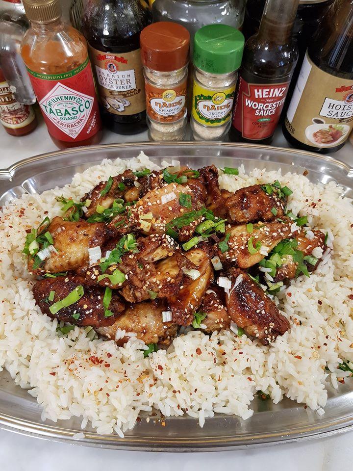 Συνταγή για καυτερές φτερούγες κοτόπουλου- Asian Zing wings
