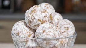 Νηστίσιμα αμυγδαλωτά με μόνο 3 υλικά- Almond Balls