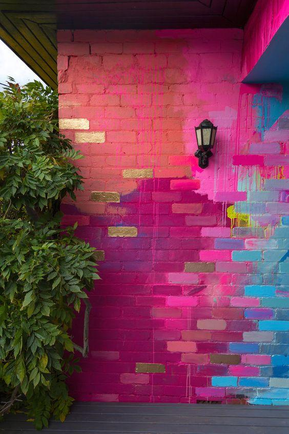 Ιδέες για πρωτότυπα χρώματα & σχέδια στους τοίχους του σπιτιού