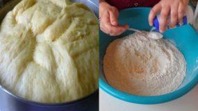 Πως να φτιάξετε ζύμη για αρτοσκευάσματα- Διατηρείται στο ψυγείο για μια βδομάδα