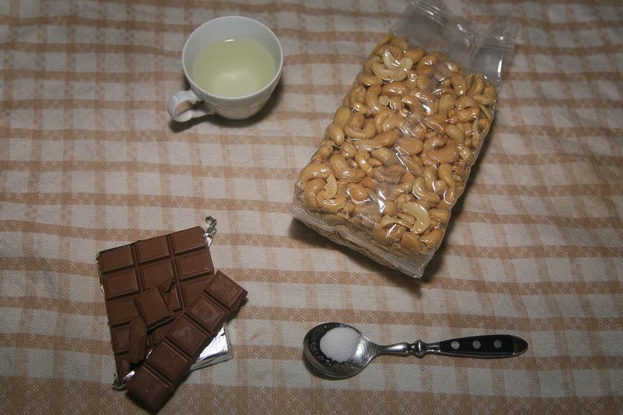 Cashew butter με σοκολάτα! Σοκολατένια απόλαυση με 4 υλικά