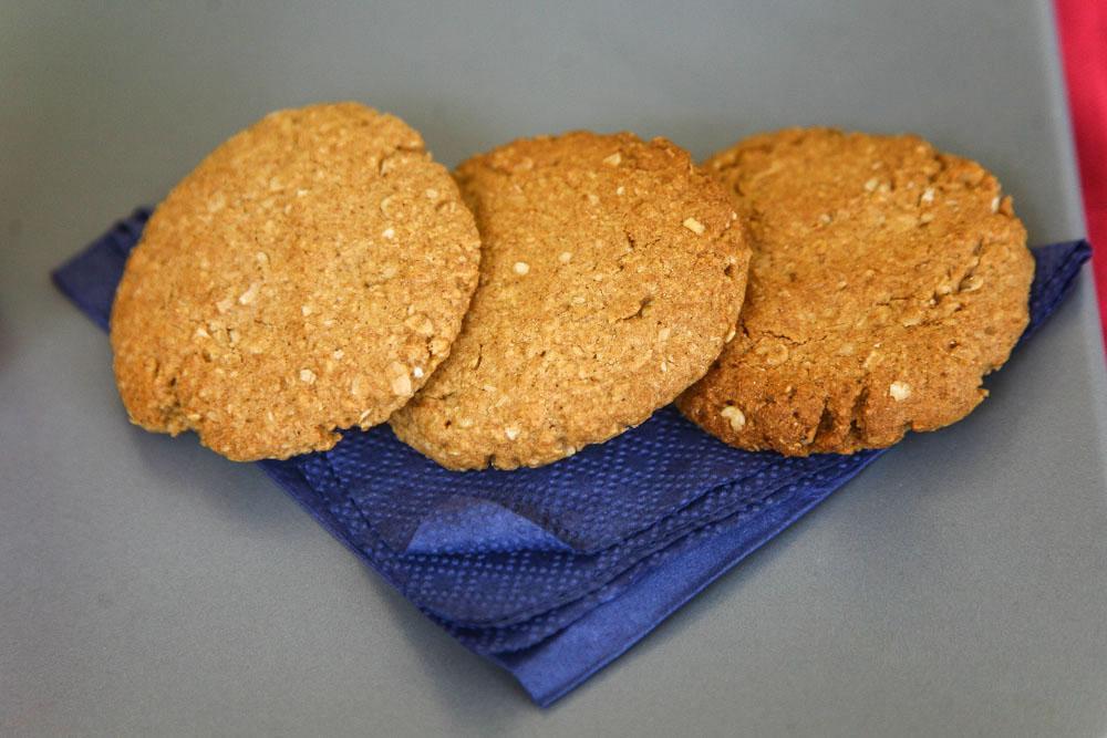 Υπέροχα μπισκότα ολικής με κουάκερ και μέλι!