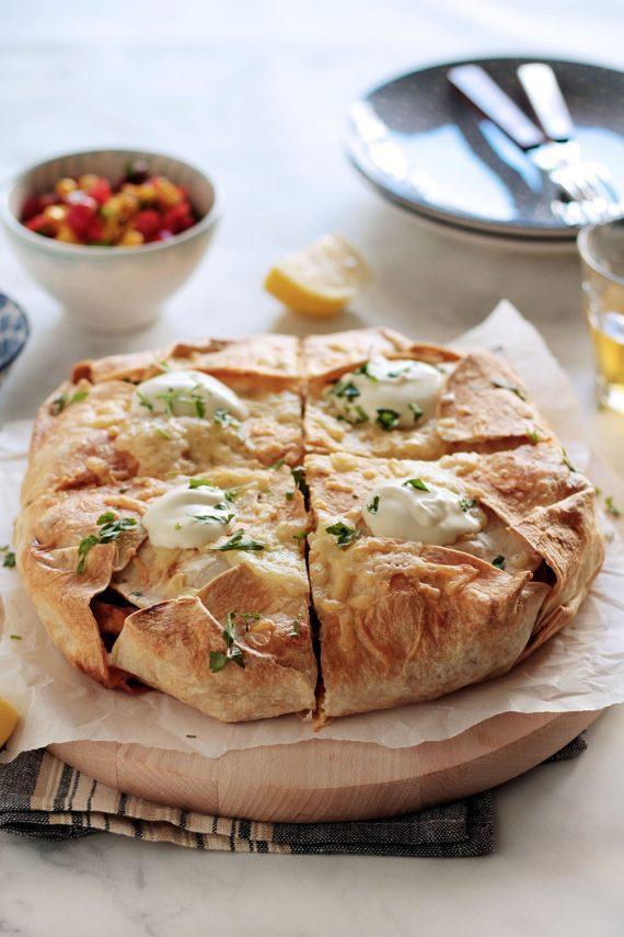 fajitas με κοτόπουλο : Η απόλυτη πίτα από τορτίγιες
