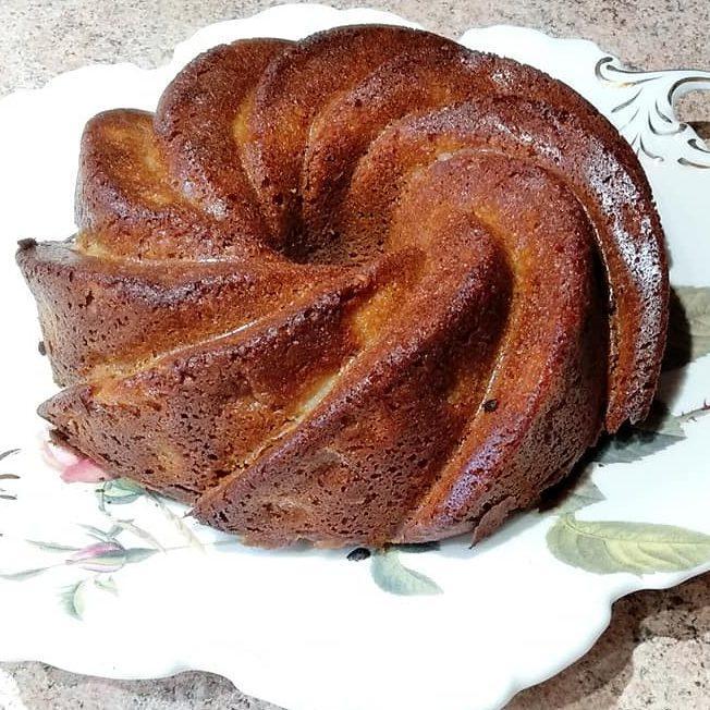 Κέικ μήλου με ζάχαρη καρύδας