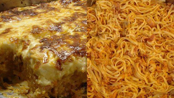 Ογκρατέν ζυμαρικών με λαχανικά, μπέικον και τυριά & tips για επαγγελματικό αποτέλεσμα
