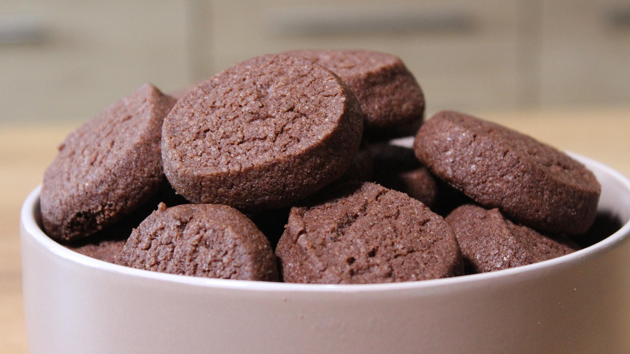 μπισκότα με κακάο