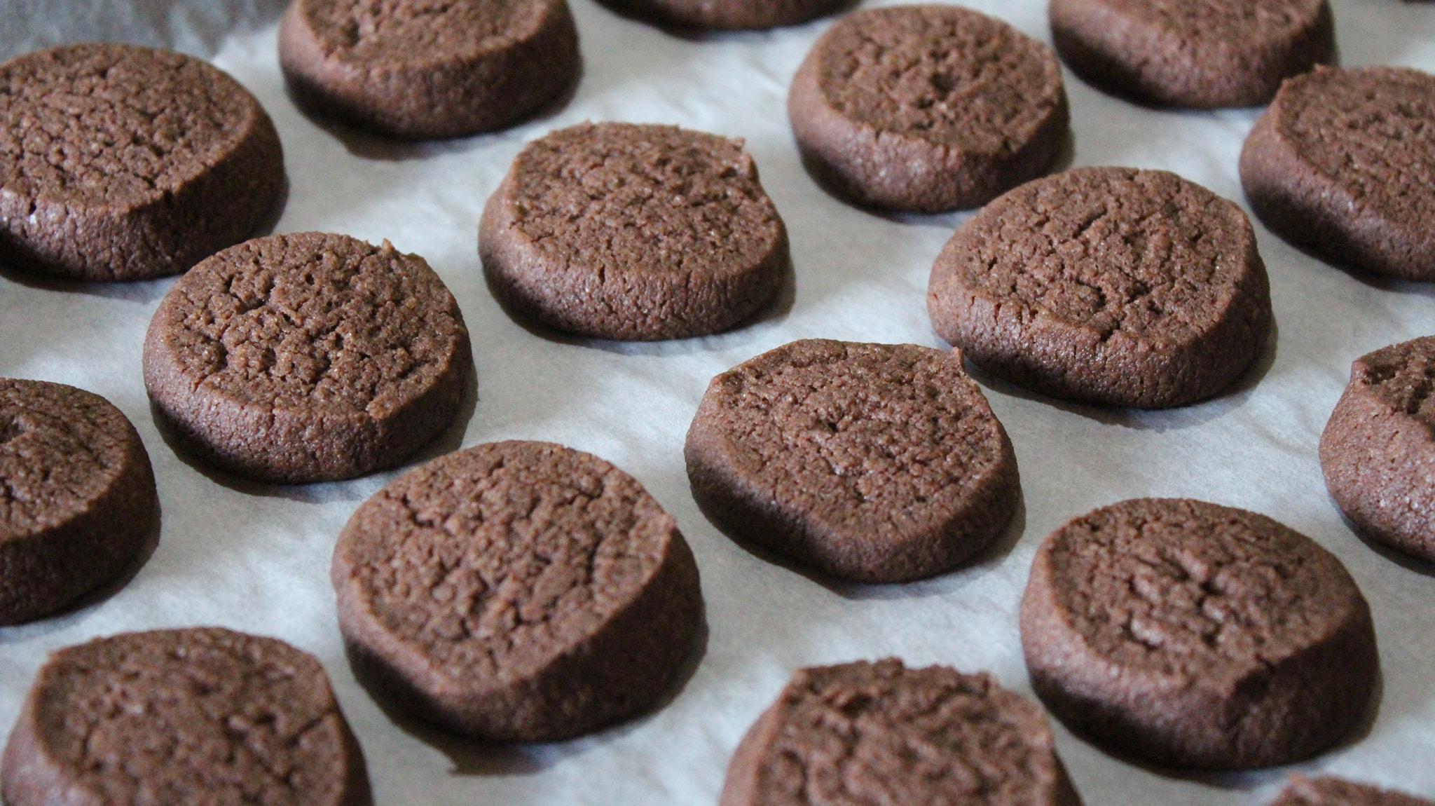 εύκολα μπισκότα με κακάο
