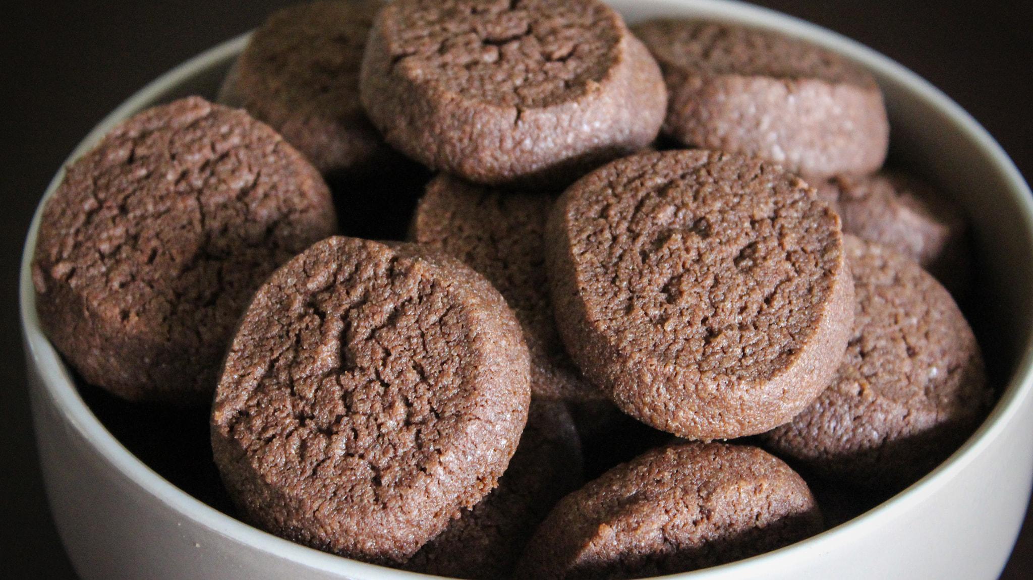 συνταγή για μπισκότα με κακάο 2