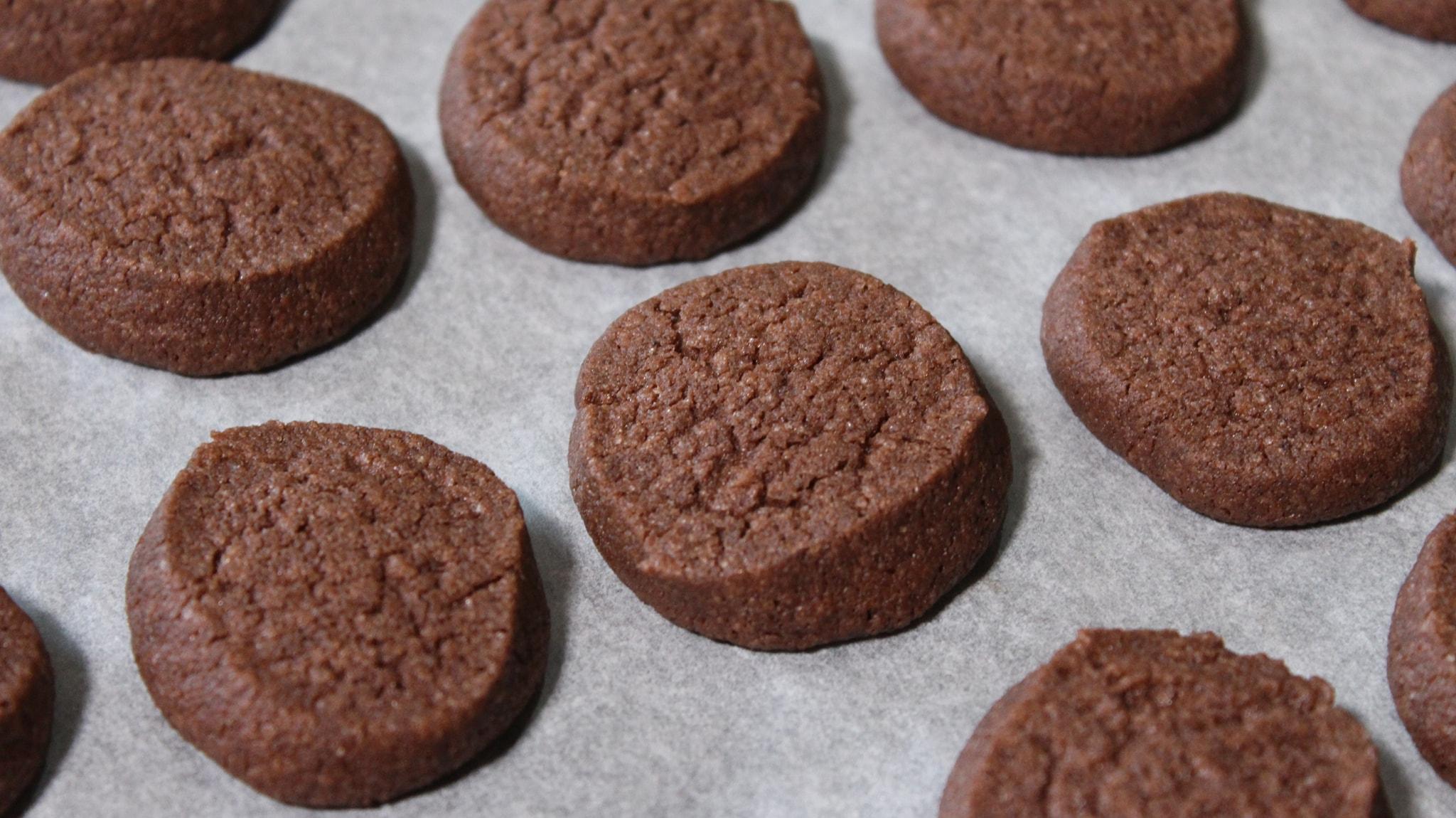 συνταγή για μπισκότα με κακάο