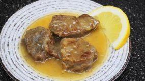 Το λεμονάτο της αρχάριας: Μοσχάρι λεμονάτο με χυλωμένη σάλτσα από απλά υλικά