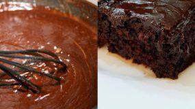 Kέικ με coca cola και σοκολάτα που θα ξετρελάνει μικρούς & μεγάλους!