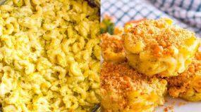 Muffins mac and cheese με λαχανικά - Συνταγή για παιδικό πάρτυ