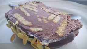 Συνταγή για παγωτό - Μωσαϊκό: Σοκολατένια απόλαυση
