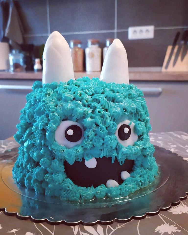 Monster birthday cake: Συνταγή για πανέμορφη τούρτα για το αγoρίστικο παιδικό party!