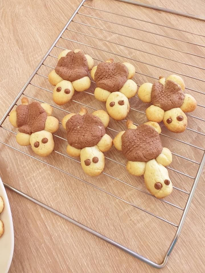 Υπέροχα μπισκότα σε σχήμα χελώνας για τα το παιδικό party!
