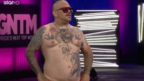 Τους τρέλανε όλους ο Τάκης από το Χαϊδάρι: Με κοιλίτσα και τατουάζ πέρασε στην επόμενη φάση του GNTM με 4 «ναι»!  (pics & vid)
