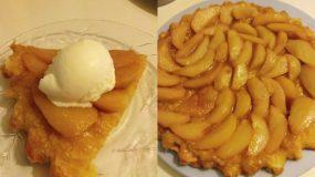 Τάρτα σφολιάτας χωρίς ζάχαρη : Με αχλάδι και ακόμη δύο υλικά