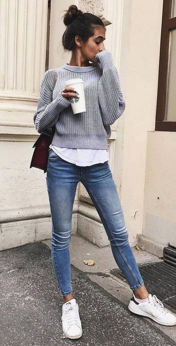 Ποια χρώματα θα φορεθούν πολύ στα γυναικεία ρούχα το Φθινόπωρο - Χειμώνας 2020 - 2021; γκρι