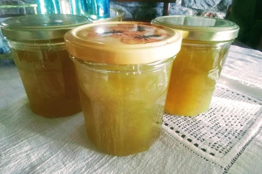Συνταγή για μαρμελάδα πεπόνι με μόλις 5 υλικά.