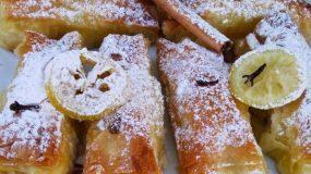 Μπουρεκάκια όνειρο με γλυκιά μυζήθρα και μέλι