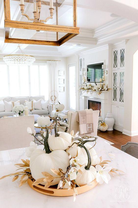 15 φθινοπωρινοί τρόποι διακόσμησης για το σπίτι με πρωταγωνιστή το λευκό! Θα ξετρελαθείτε!