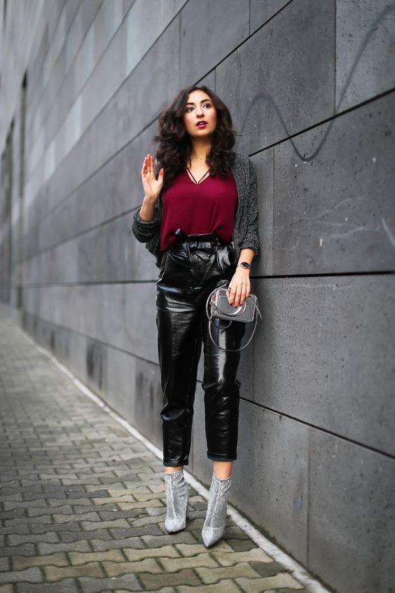 Vinyl γυναικείο παντελόνι- Η τάση όλων των εποχών & πως να το φορέσεις φέτος τον Χειμώνα!